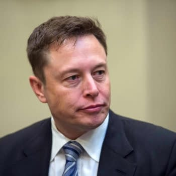 Tesla CEO and space X founder Elon Musk, photo by Naresh777 / Shutterstock.com.
