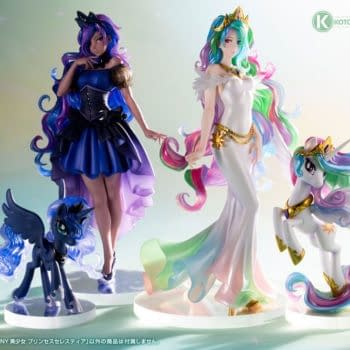 My Little Pony Princess Celestia Comes to Life With Kotobukiya