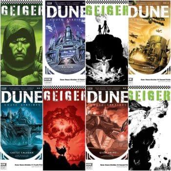 Printwatch: Geiger And Dune: House Atreides Get Fourth Printings