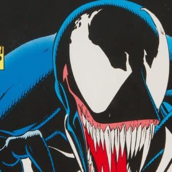Venom: Lethal Protector #1 Black Cover, artwork by Mark Bagley and Sam de la Rosa, Marvel 1993.