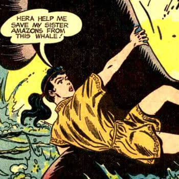 Wonder Woman #105 written by Robert Kanigher, penciled by Ross Andru, and inked by Mike Esposito, DC Comics 1959.