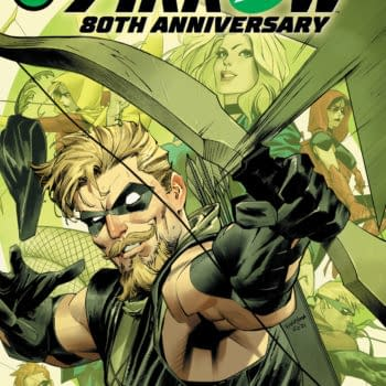 Cover image for GREEN ARROW 80TH ANNIVERSARY 100-PAGE SUPER SPECTACULAR #1 CVR A DAN MORA