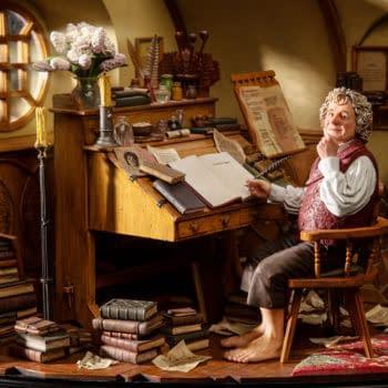 Weta Workshop Reveals Lord of the Rings Bilbo Baggins Statue