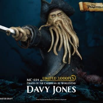 Pirates of the Caribbean Davy Jones Arrives With Beast Kingdom