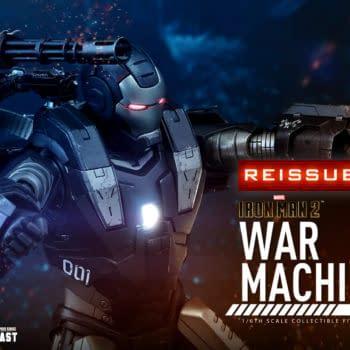 Iron Man 2 War Machine Hot Toys Figure Receives A Reissue