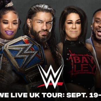 WWE to Spread Joy (and Hopefully Nothing Else) to UK in September