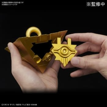 Yu-Gi-Oh Millennium Puzzle Replica Model Arrives From Bandai