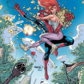 The cover to Amazing Spider-Man #74 by Patrick Gleason, the final issue to be written by Nick Spencer