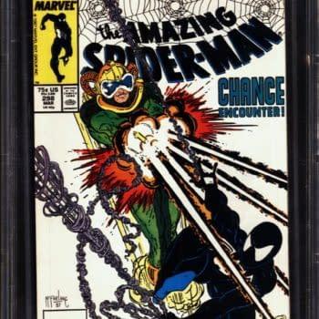 Todd McFarlane's First Amazing Spider-Man Work On Auction