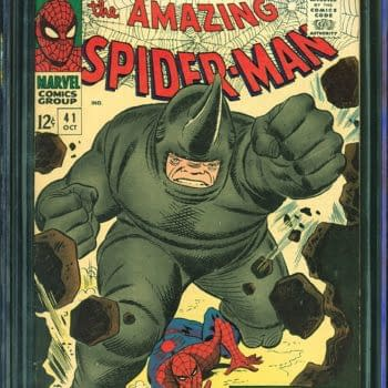 The First Appearance Of Rhino In Amazing Spider-Man Is On Auction