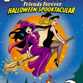 BETTY & VERONICA FRIENDS FOREVER - HALLOWEEN SPOOKTACULAR Cover by Dan Parent