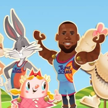 Candy Crush Saga Has Candified LeBron James For Space Jam Legacy