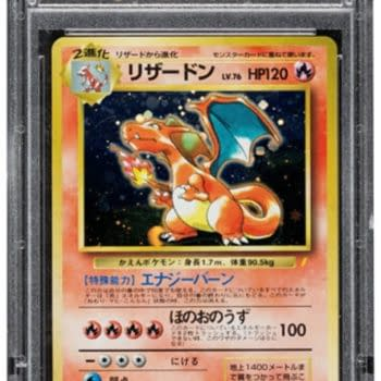 Pokémon Japanese Promo Charizard Card On Auction Over At Heritage