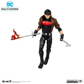 Red Hood Becomes Unmasked With New McFarlane Toys DC Figure