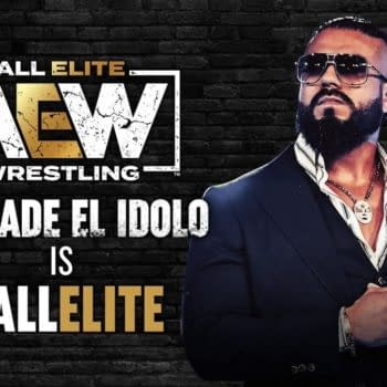 Andrade El Idolo is All Elite after debuting on AEW Dynamite this week.