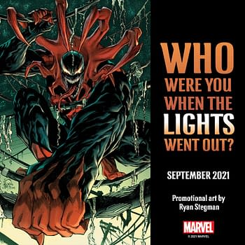 Promo art for Marvel Dark Ages by Tom Taylor and Iban Coello