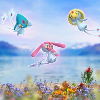 The Legendary Lake Trio Can Still Spawn in Pokémon GO