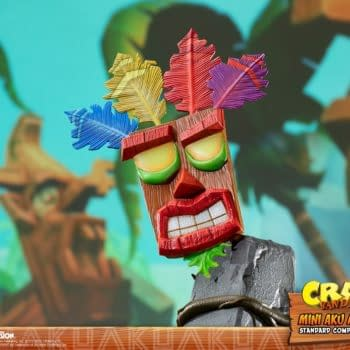 Crash Bandicoot Aku Aku Mask Statues Coming From First 4 Figures