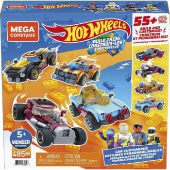 Mattel Reveals Mega Construx x Hot Wheels Car Customizer Vehicle Set