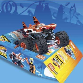 Mattel Reveals Mega Construx X Hot Wheels Team Up Sets