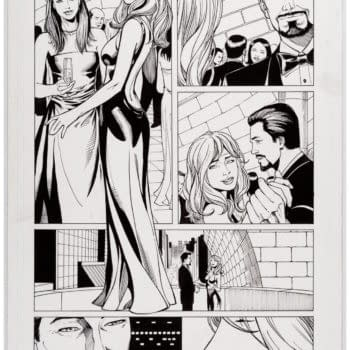 Bid For This Comic Page from the First Iron Man Film Adaptation