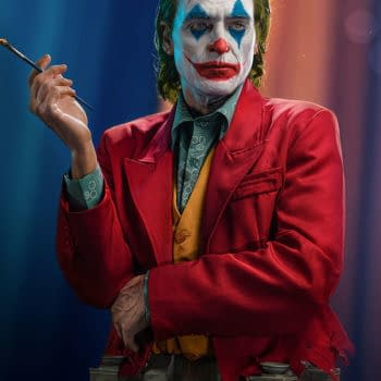 The Joker Arthur Fleck Gets Expensive Life-Size Bust From Infinity Studio