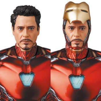 Medicom Updates Their Iron Man Mark 85 MAFEX Figure