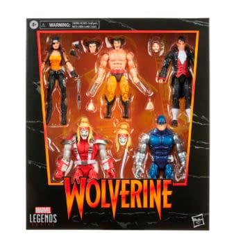 Marvel Legends Wolverine Five Pack Up For Order On Amazon