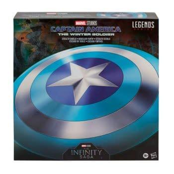 Hasbro Reveals Captain America: The Winter Soldier Replica Shield