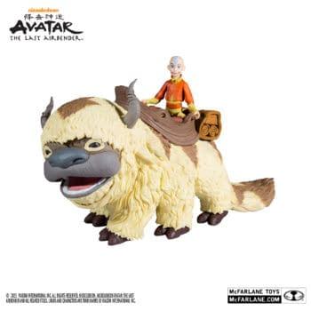 McFarlane Toys Debuts Aang and Appa Avatar: The Last Airbender Figures