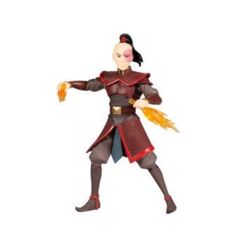 Avatar: The Last Airbender Prince Zuko Brings Heat To McFarlane Toys