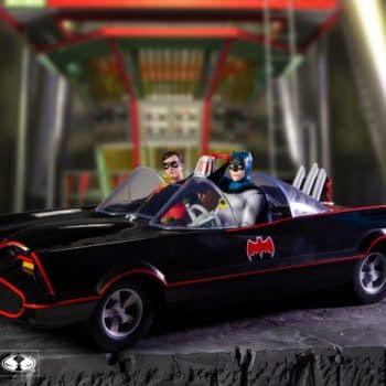 The 1966 Batmobile Hits Gotham Streets Again With McFarlane Toys