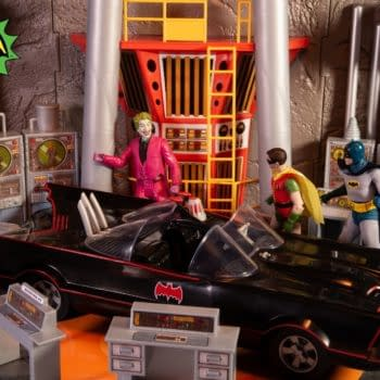 McFarlane Toys Enters the Batcave With Their Batman 1966 Playset