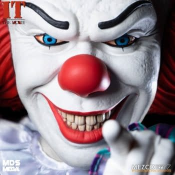 Pennywise Returns From 1990 With Mezco Toyz Newest MDS IT Doll