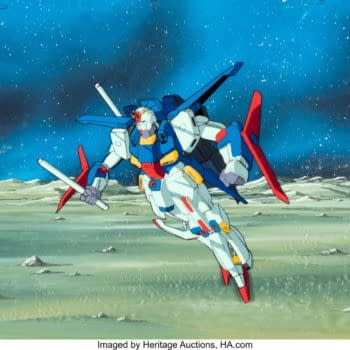 Mobile Suit Gundam ZZ Production Cel Up For Auction at Heritage