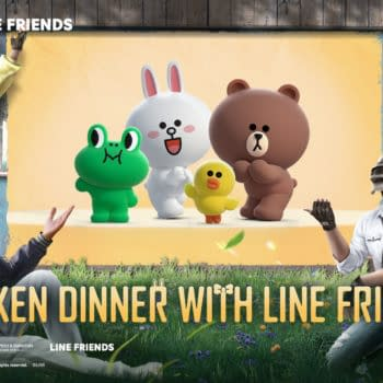 PUBG Mobile Launches new partnership With Line Friends