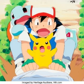 Pokémon: The First Movie Production Cel Up For Auction At Heritage