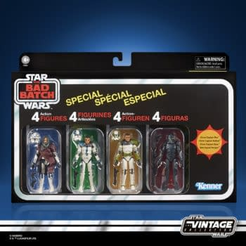 Hasbro Reveals Star Wars: The Bad Batch Vintage Collection 4-Pack
