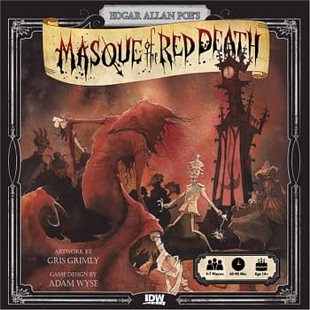 Cover image for EDGAR ALLAN POE MASQUE OF RED DEATH GAME (O/A)