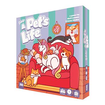 Cover image for SEIKATSU A PETS LIFE GAME (JUL190830)