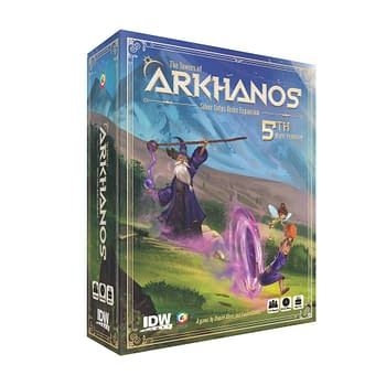 Cover image for TOWERS OF ARKHANOS SILVER LOTUS ORDER 5TH PLAYER EXPANSION (
