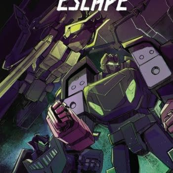 Cover image for TRANSFORMERS ESCAPE #4 (OF 5) CVR A MCGUIRE-SMITH