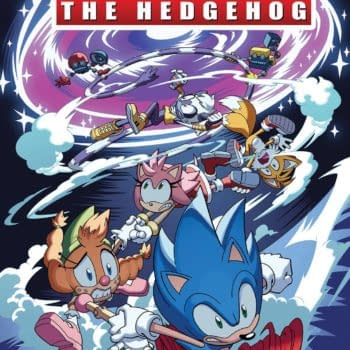 Cover image for SONIC THE HEDGEHOG #40 CVR A TRACY YARDLEY