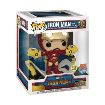 Iron Man 2 Receives Its Very First Deluxe Pop Vinyl From Funko