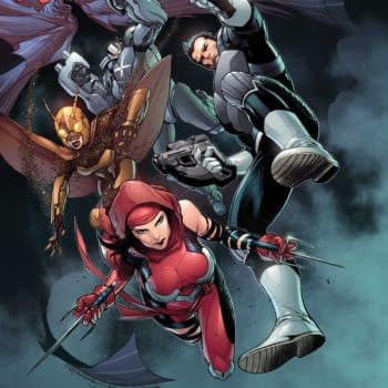 Cover image for HEROES REBORN SQUADRON SAVAGE #1