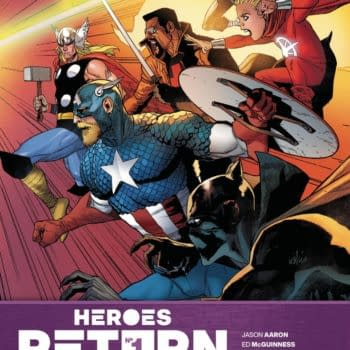 Cover image for HEROES RETURN #1