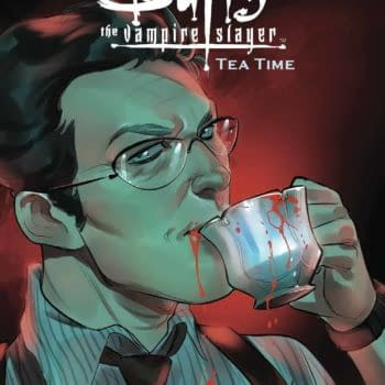 Cover image for BUFFY THE VAMPIRE SLAYER TEA TIME #1 CVR A ANDOLFO
