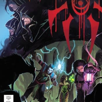 Cover image for APR211232 MAGIC THE GATHERING #3 CVR A SCALERA, by (W) Jed MacKay (A) Ig Guara (CA) Matteo Scalera, in stores Wednesday, June 9, 2021 from BOOM! STUDIOS