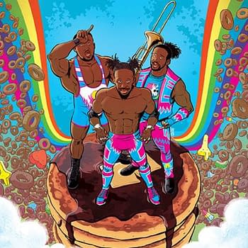 WWEs New Day Morphin to Power Rangers Ahead of Boom Comic