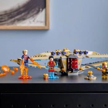 Captain Marvel Joins The Endgame With New LEGO Marvel Set